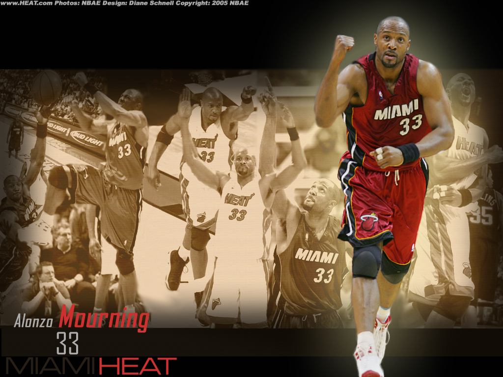 Alonzo Mourning NBA wallpapers
